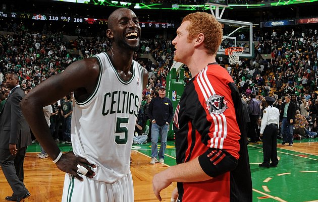 Brian Scalabrine dominated the competition in Boston one-on-one…