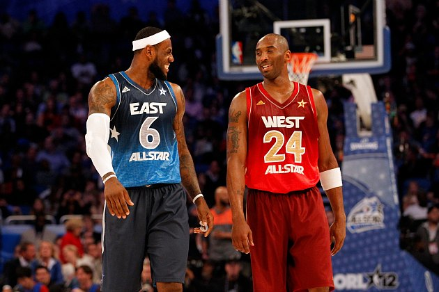 Kobe Bryant and LeBron James headline