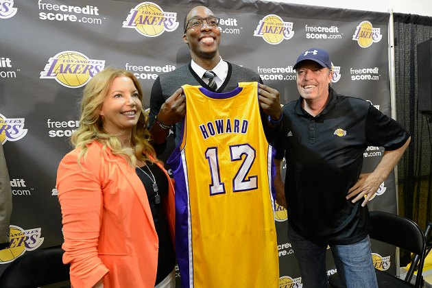 With Dwight Howard in tow, the Lakers are facing a huge luxury …