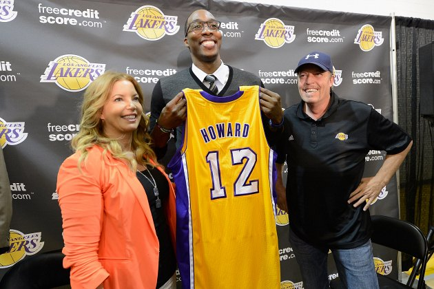 Jim Buss says Dwight Howard was 'never really a Laker,' which i…