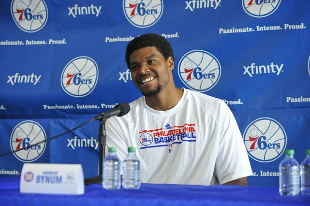 Dorell Wright thinks new teammate Andrew Bynum is better than D…
