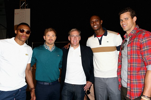 "Chris Bosh is now calling himself ""Random Guy"""