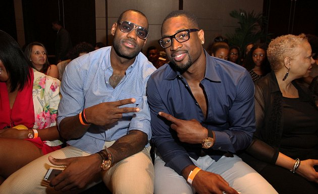 LeBron James and Dwyane Wade compete in efficiency stats, take …