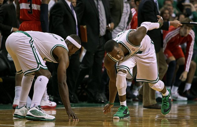 Rajon Rondo has a really intricate pregame routine, Jason Terry…