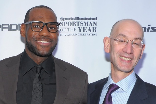 LeBron James wants to talk strategy with Adam Silver when new c…