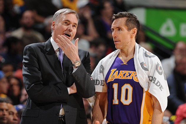 Are the Lakers using Steve Nash correctly?