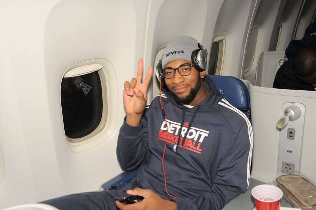 Andre Drummond is playing the drums to rehab his back