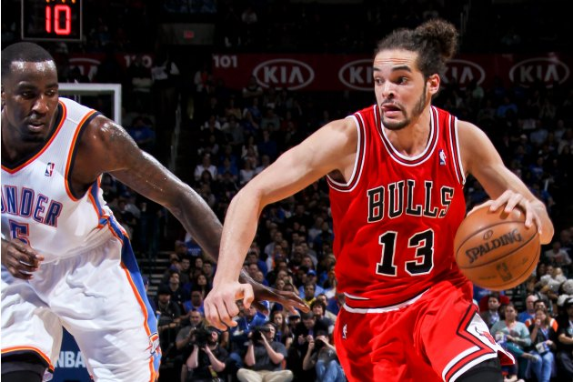 Kendrick Perkins did not want Joakim Noah in the Thunder's lock…