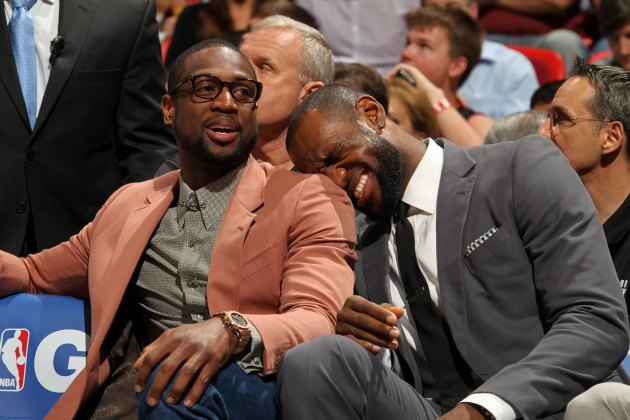 Dwyane Wade planned out all his outfits for the playoffs ahead …