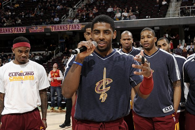 Kyrie Irving skipped out on Fan Appreciation Night duties follo…