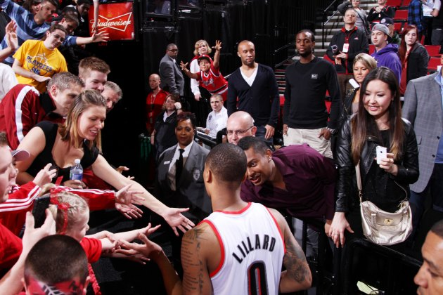 The Portland Trail Blazers' Rose Garden sells corporate naming …
