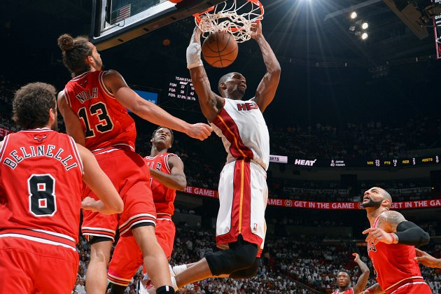 The Miami Heat hand the Chicago Bulls their worst playoff loss …