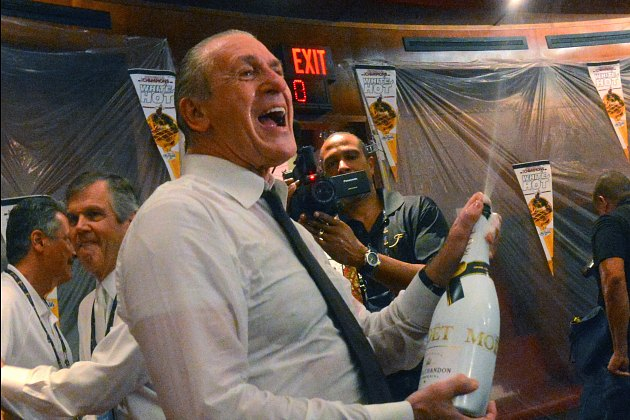 Pat Riley thinks the Miami Heat should get a break on their lux…