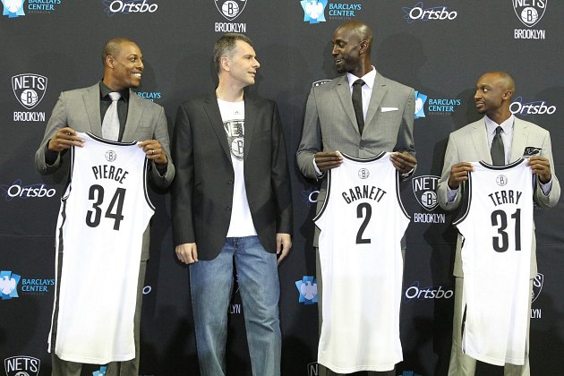 Paul Pierce called Kevin Garnett to sell him on playing for the…