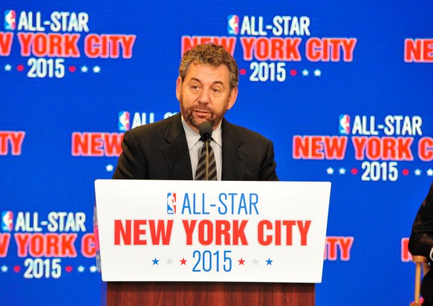 James Dolan expects a championship for the New York Knicks this…