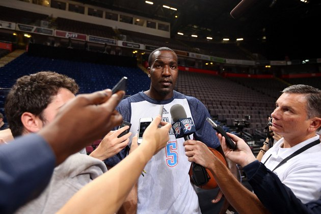 Kendrick Perkins allegedly punched a woman in the face, earning…