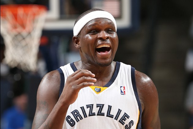 Zach Randolph left Wednesday's Grizzlies game in the 2nd quarte…