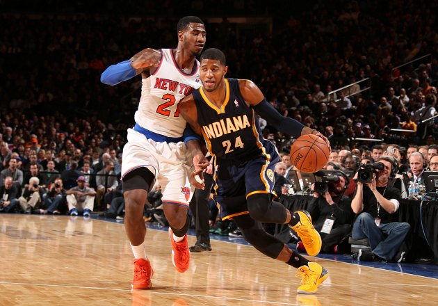 Iman Shumpert fouls Paul George for three FTs to send game to O…