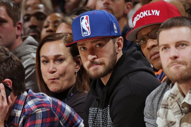 Justin Timberlake played HORSE with Paul George after the India…