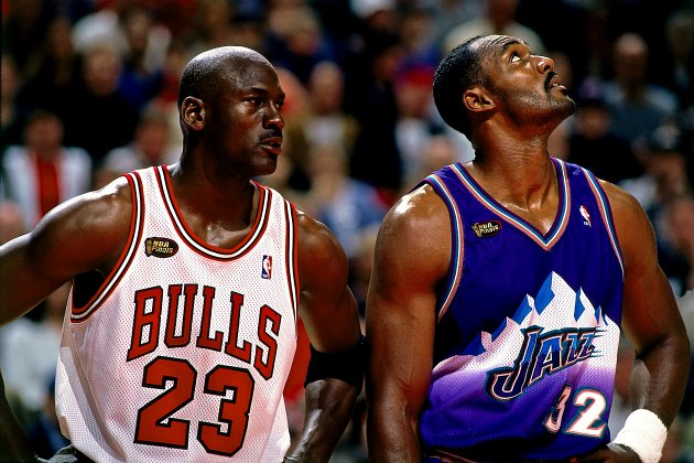 Karl Malone leaves Michael Jordan off his all-time starting fiv…