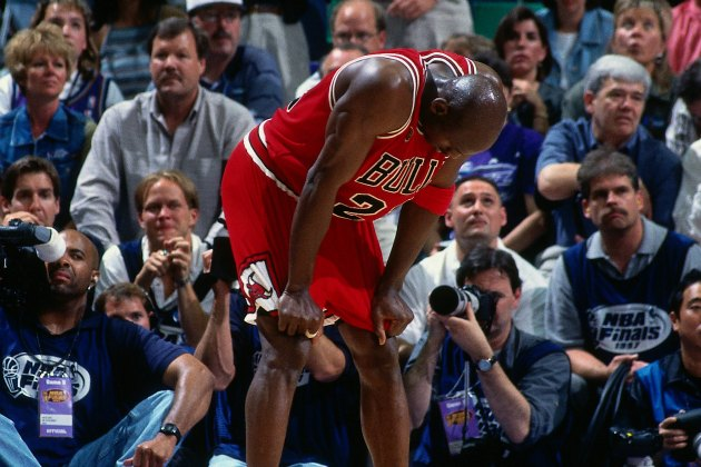 Tim Grover, Michael Jordan's trainer, says the Flu Game was a p…