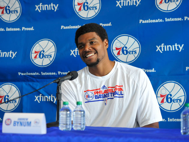 Andrew Bynum doesn't know if he'll play