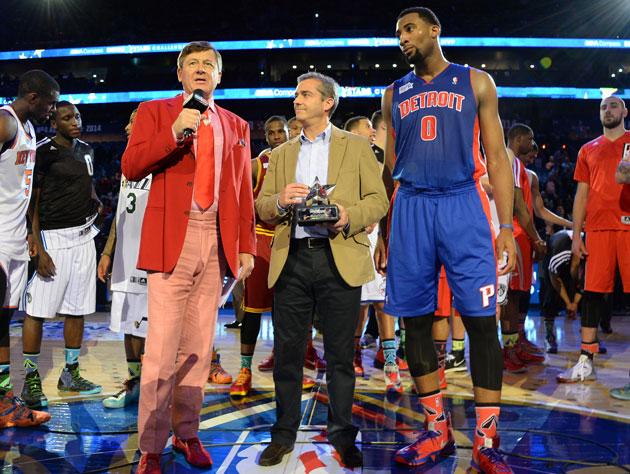 Both MVP awards and records fall in an entertaining Rising Star…
