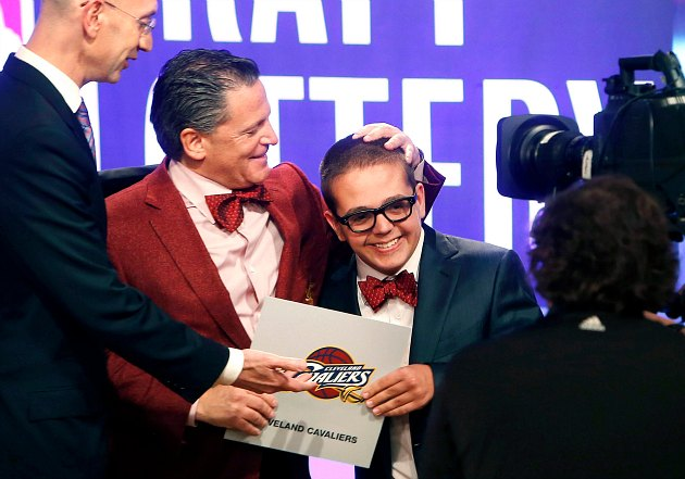 The Cleveland Cavaliers win the 2013 NBA Draft Lottery, get top…