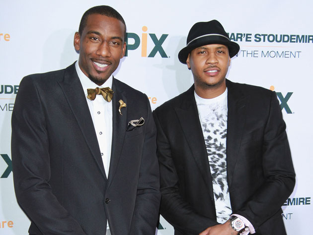Carmelo Anthony on Amar'e Stoudemire's injury woes: 'it's just …