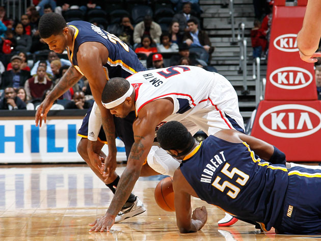 The Atlanta Hawks and Indiana Pacers attempt to make something …