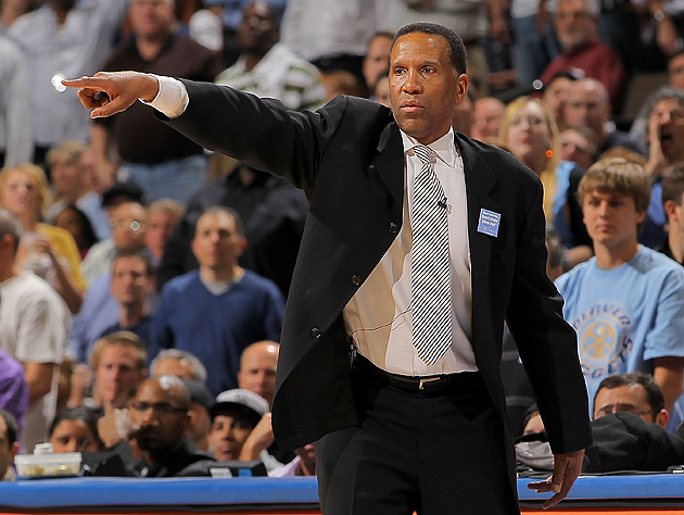 NBA Hall of Famer Adrian Dantley works as a school crossing gua…