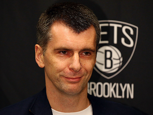 The 10-man rotation, starring Mikhail Prokhorov backing up the …