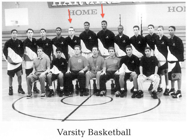 Jason Collins played high school basketball with actor Jason Se…