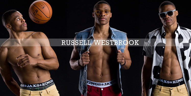 Russell Westbrook is now an underwear model