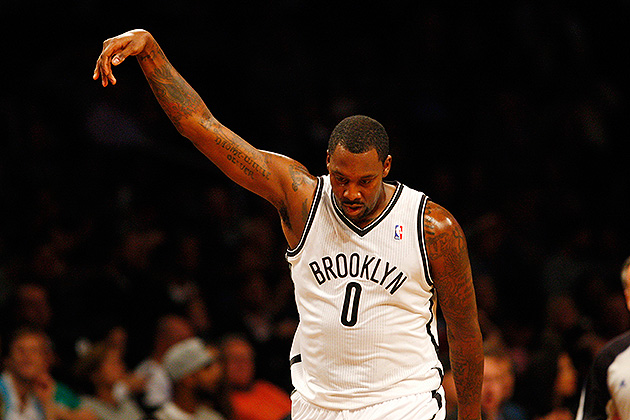 Andray Blatche fined $15,000 for 'obscene gesture' during Nets'…