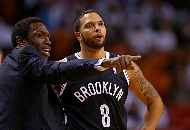 Deron Williams says he isn't as comfortable in the Nets' offens…