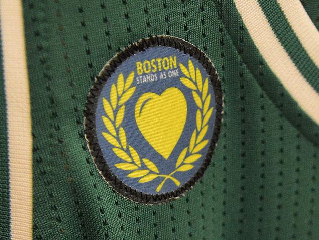 The Boston Celtics unveil a tribute patch, charity drive follow…