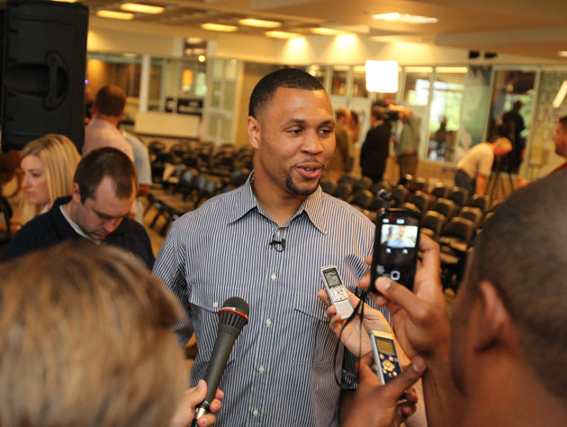 Brandon Roy, after his latest injury setback, admits that he 't…
