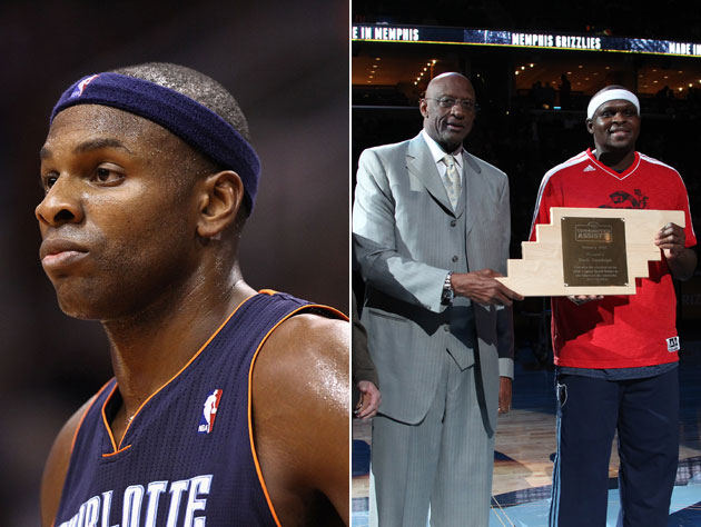 Brendan Haywood and Zach Randolph pay the utility bills for doz…