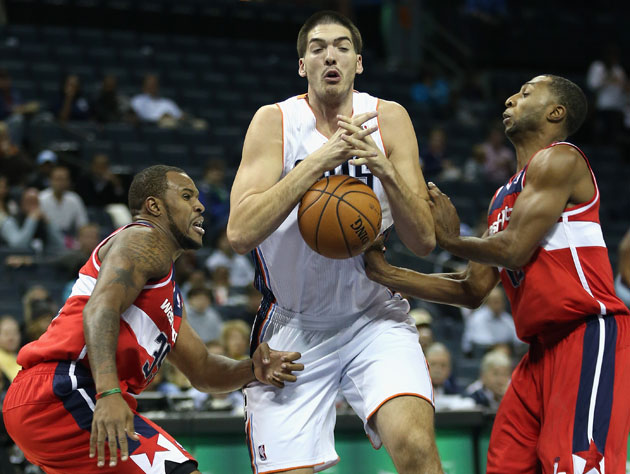 The 10-man rotation, starring Byron Mullens who is not Michael …