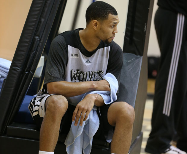 Brandon Roy's continuing knee problems are worrying, but the Mi…