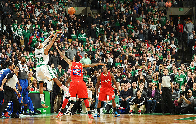 Paul Pierce hits game-winning step-back 3-pointer to push Celti…