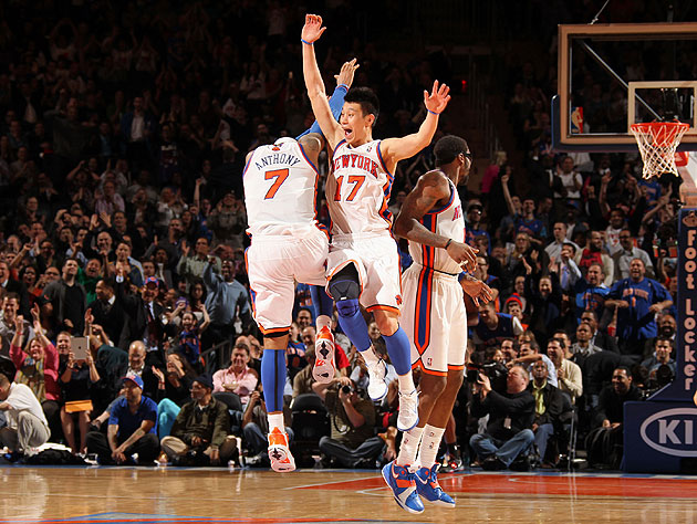 Carmelo Anthony now says he wants Jeremy Lin back with the Knic…