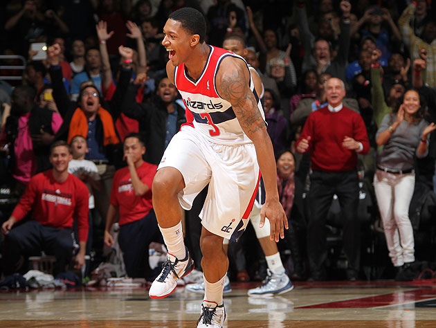The 10-man rotation, starring a fond farewell to Wizards rookie…