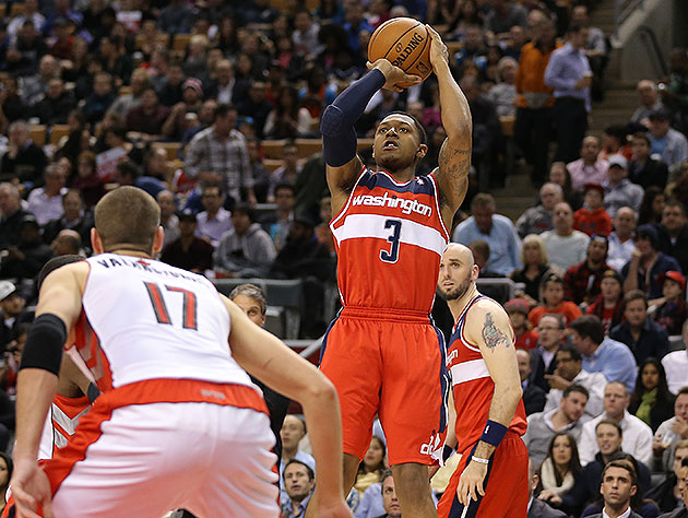 Washington Wizards' Bradley Beal out at least two weeks with 's…