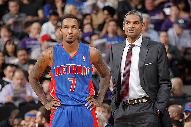 Several Pistons seem to have found out head coach Maurice Cheek…