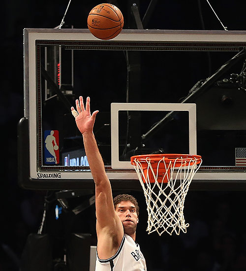 Brook Lopez is the best face of the Brooklyn Nets
