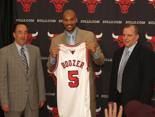 Bulls GM Gar Forman wishes Carlos Boozer would have kept playin…