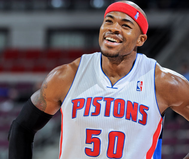 Corey Maggette, though he hasn't played for the Pistons since m…
