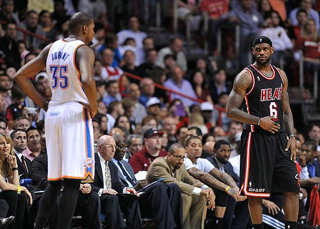 Kevin Durant, LeBron James go 'Rucker Park' during 3rd quarter …